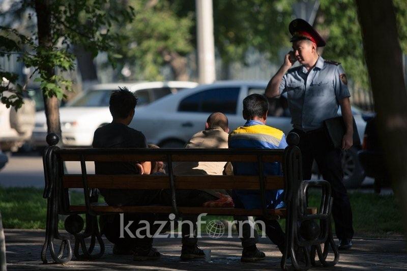 Алматы полициясы заңсыз айналымнан қару тәркілеуге кірісті