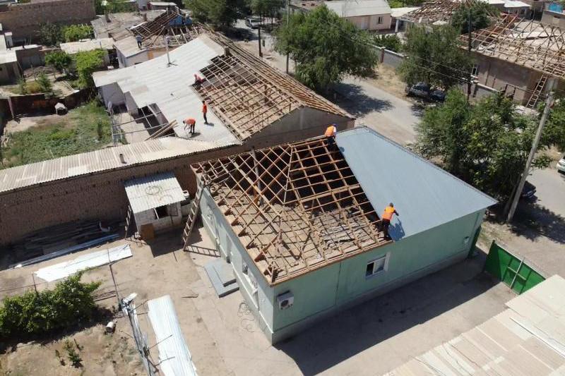 В Арыси восстановительные работы провели в 674 домах