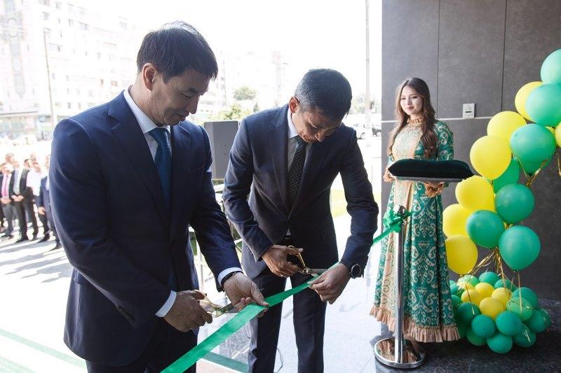 В Ташкенте открыли казахстанский банк «Tenge Bank»