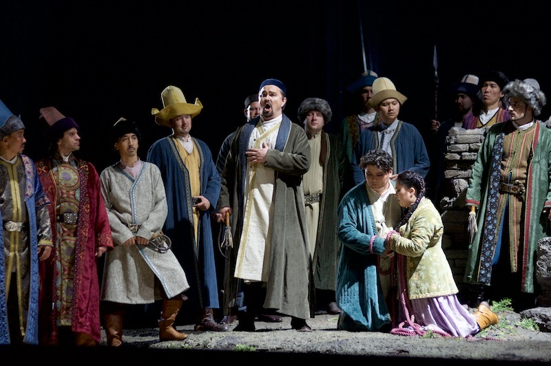 Astana Opera performs Abai in Uzbekistan for first time ever