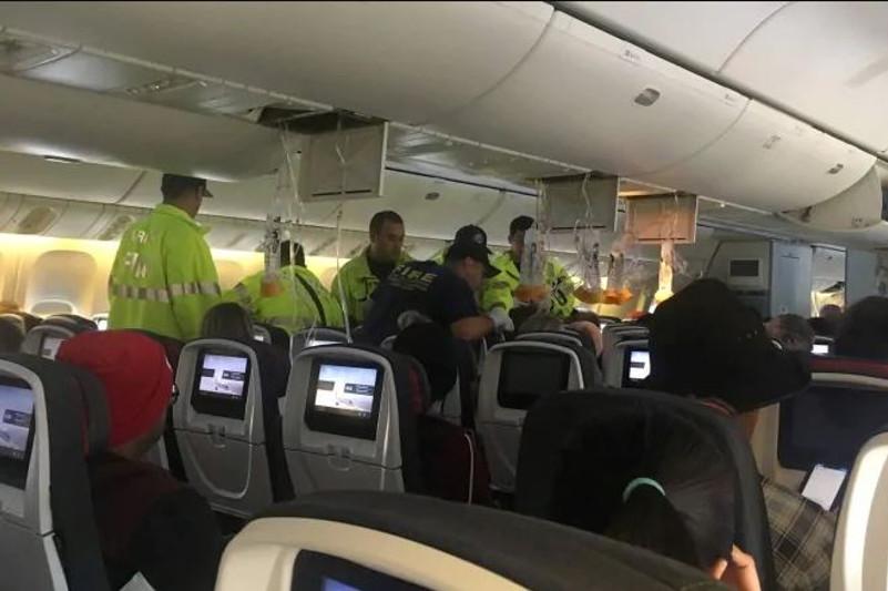 37 пассажиров Air Canada пострадали в результате турбулентности