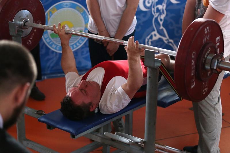 首都举行残疾人举重世锦赛