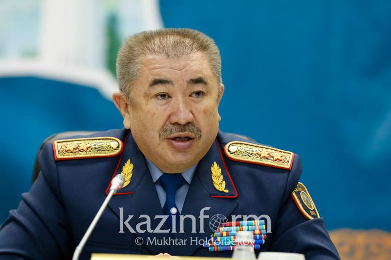Ерлан Тұрғымбаев: Ашылған қылмыс саны - полиция қызметінің көрсеткіші емес