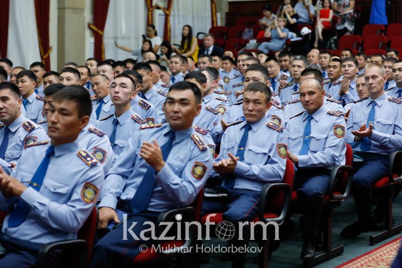 Самый лучший участковый инспектор страны живет в Шымкенте