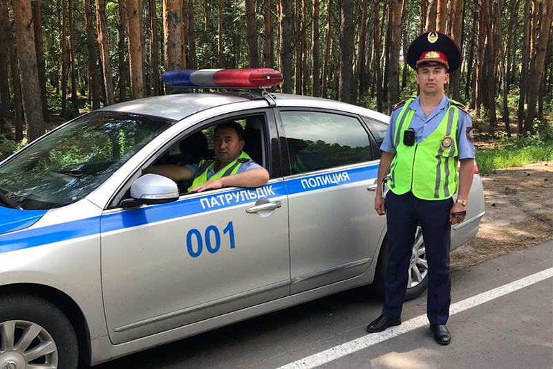 Полицейские СКО помогли спасти мужчину от гибели
