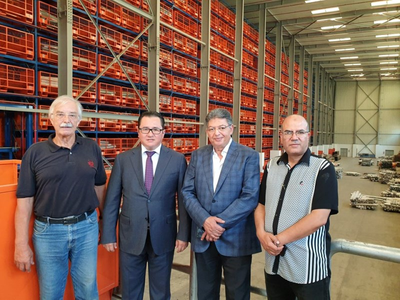 World's largest carpet manufacturing company to consider opening a plant in Kazakhstan