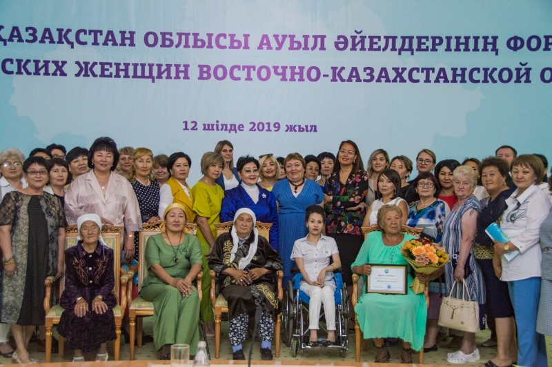 Примеры, которые вдохновляют: в ВКО отметили женщин-ветеранов труда