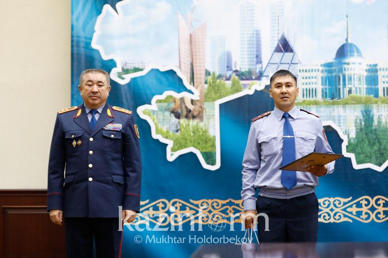 Костанайский участковый стал лучшим в Казахстане