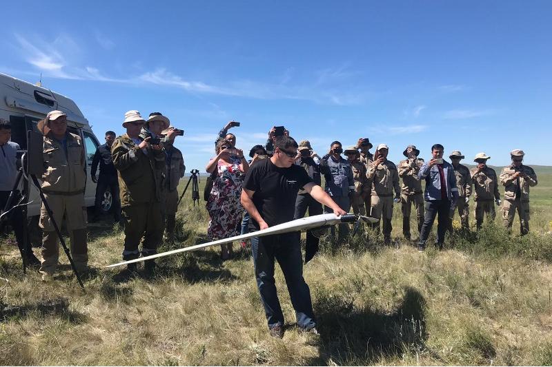 Магнитную разведку месторождения меди с помощью дронов ведут в Карагандинской области