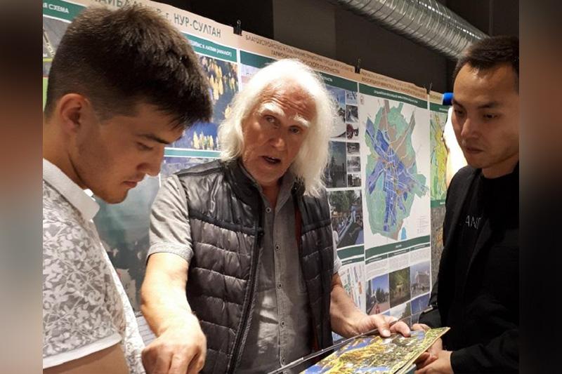 Построить экопоселок в Нур-Султане предложил латвийский архитектор