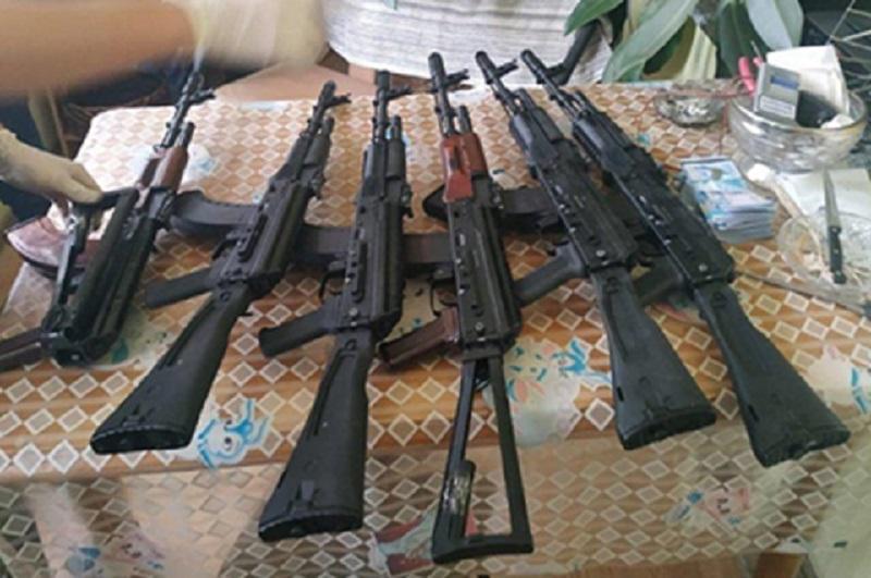 КНБ РК пресек крупный канал поставки и сбыта оружия и боеприпасов