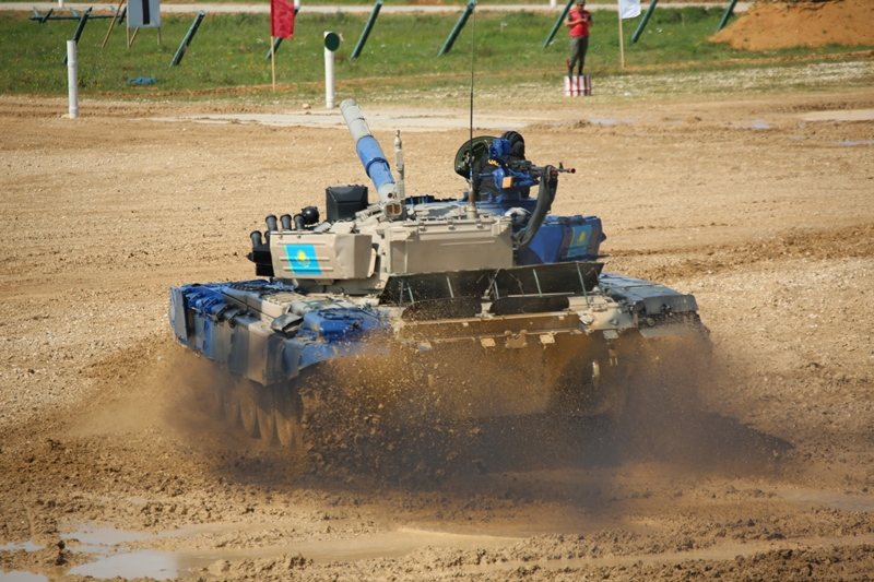 2019 Army Games: Kazakhstan advanced into Tank Biathlon 1/2 final