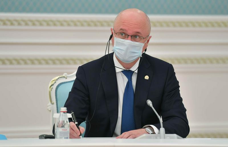 Kazakh President, ArcelorMittal CEO have talks