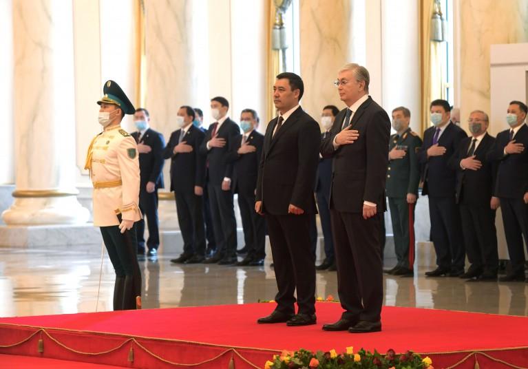 Kassym-Jomart Tokayev, Sadyr Zhaparov hold talks in narrow format