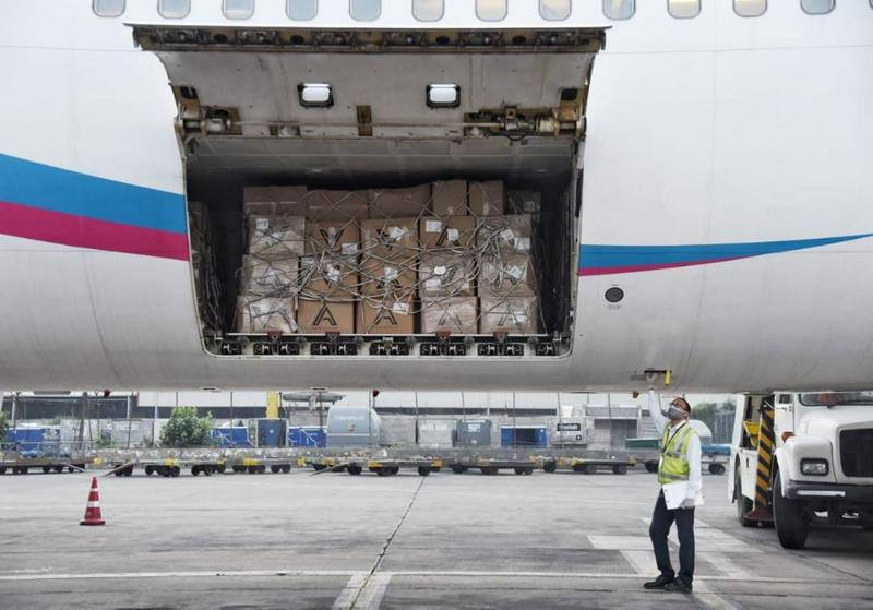 Kazakhstan sends nearly 40 tons of humanitarian aid to India