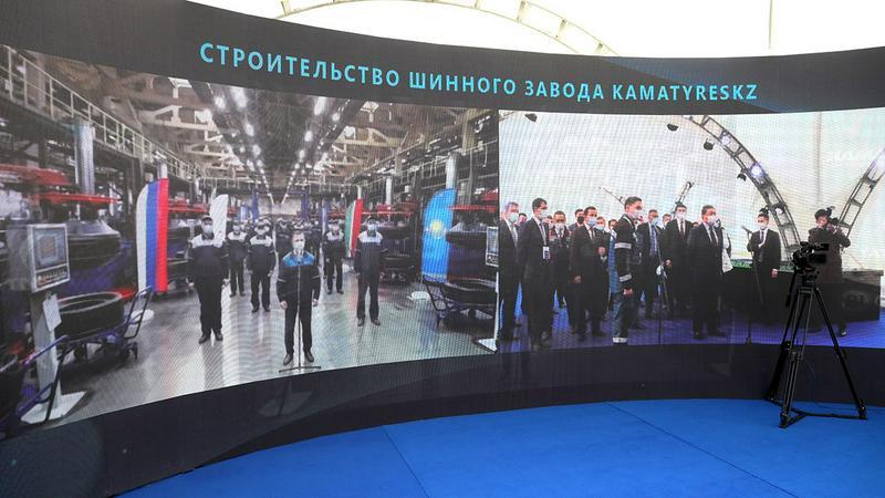 Аскар Мамин проинспектировал реализацию инвестпроектов в Карагандинской области