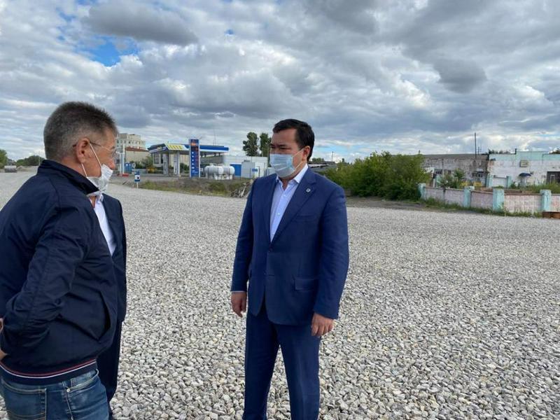 Качество ремонта дорог в Караганде проверил глава региона