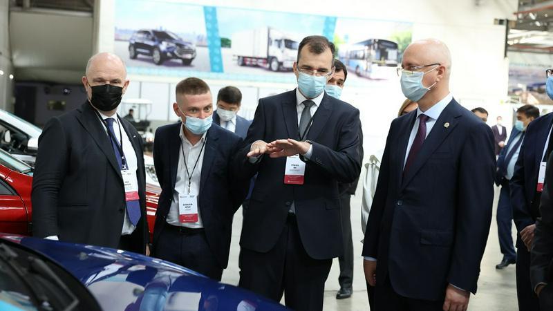 Крупнейшие российские автопроизводители продолжат развитие промышленной кооперации РК и РФ
