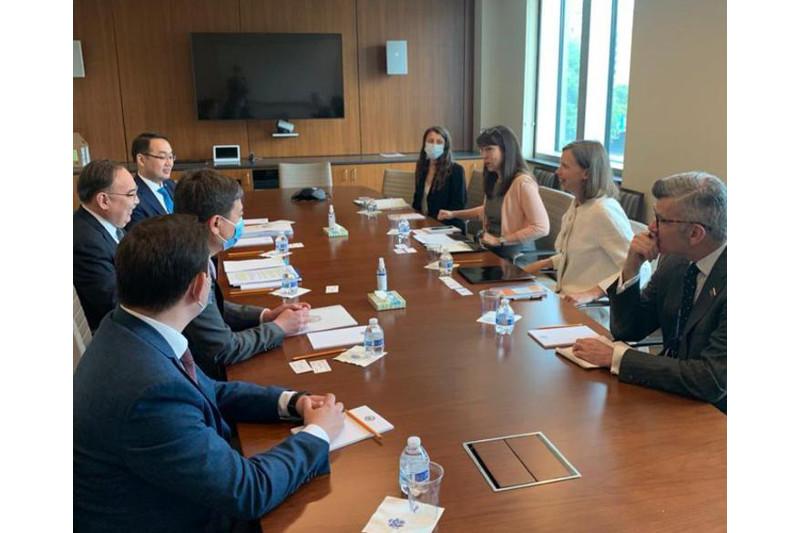 Спецпредставитель Президента РК провел ряд встреч в США