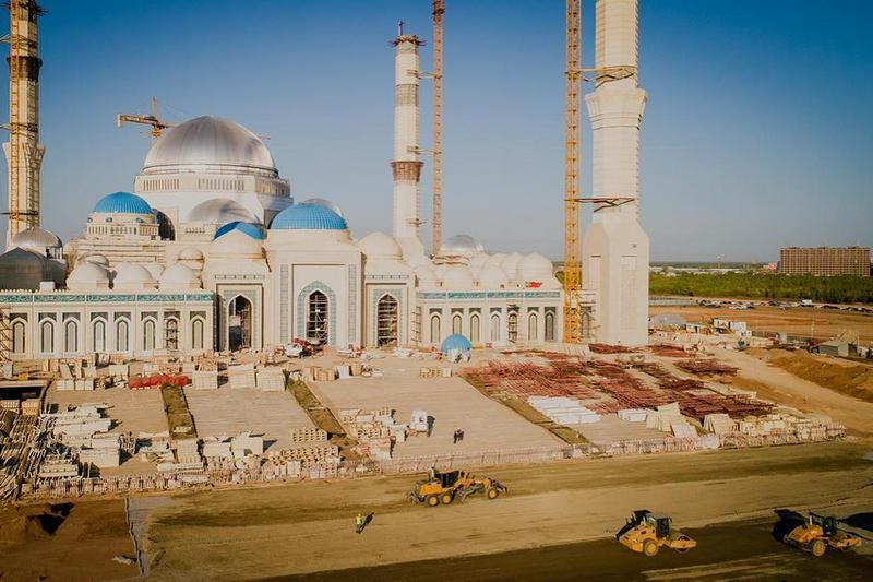 Большой парк появится вокруг новой мечети в Нур-Султане