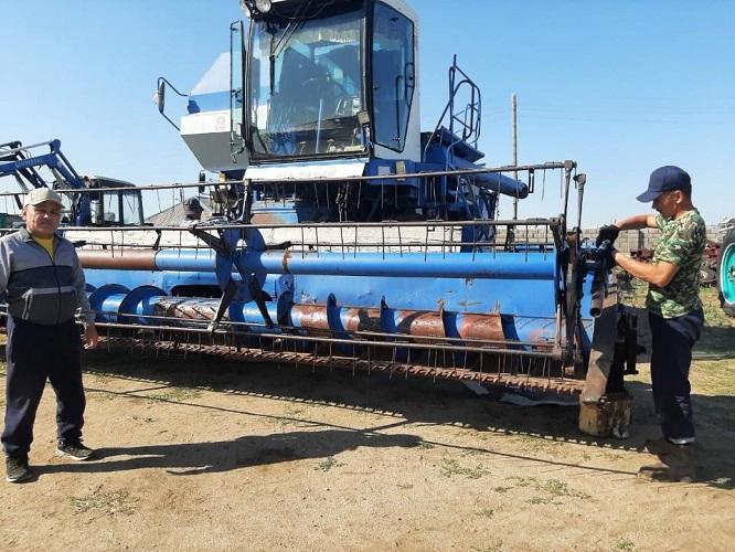 Хороший урожай льна и зерновых ожидают в Карагандинской области