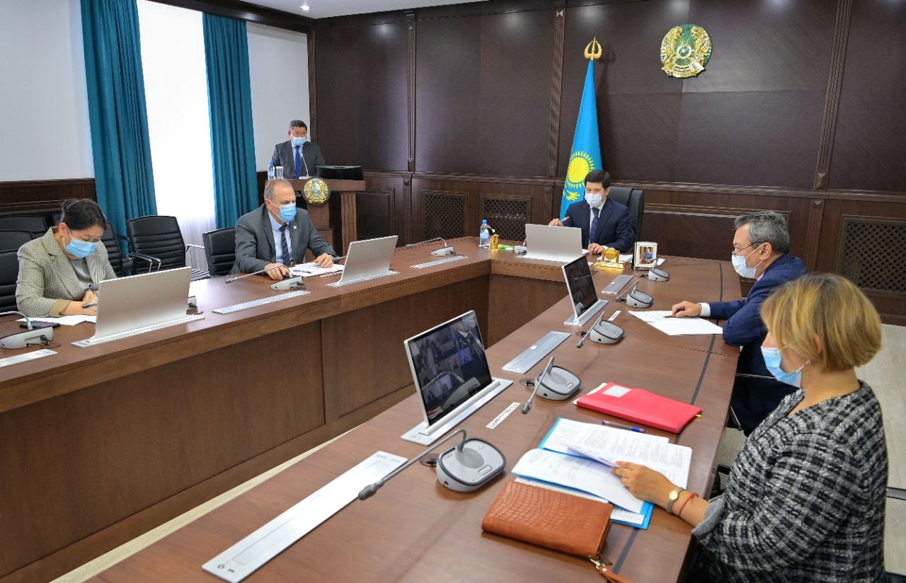 Работа по завершению долгостроев оживилась в Аксу Павлодарской области