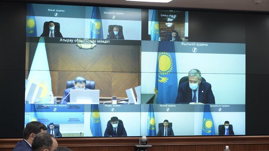 Работать надо не ради отчётности, а ради людей - аким Атырауской области