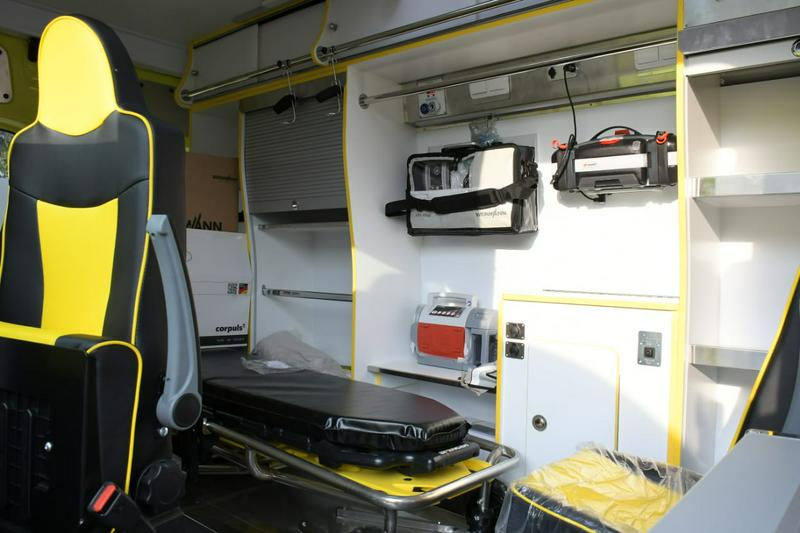 Спецавтомобили получили акмолинские медики, спасатели и полицейские1