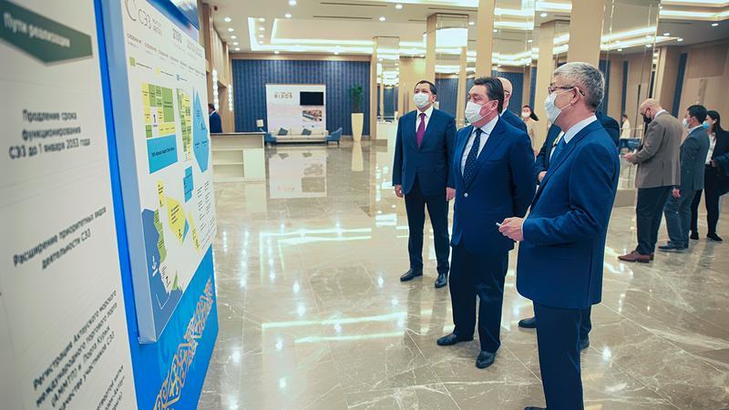 Аскар Мамин дал старт реализации второго этапа развития курортной зоны Актау4