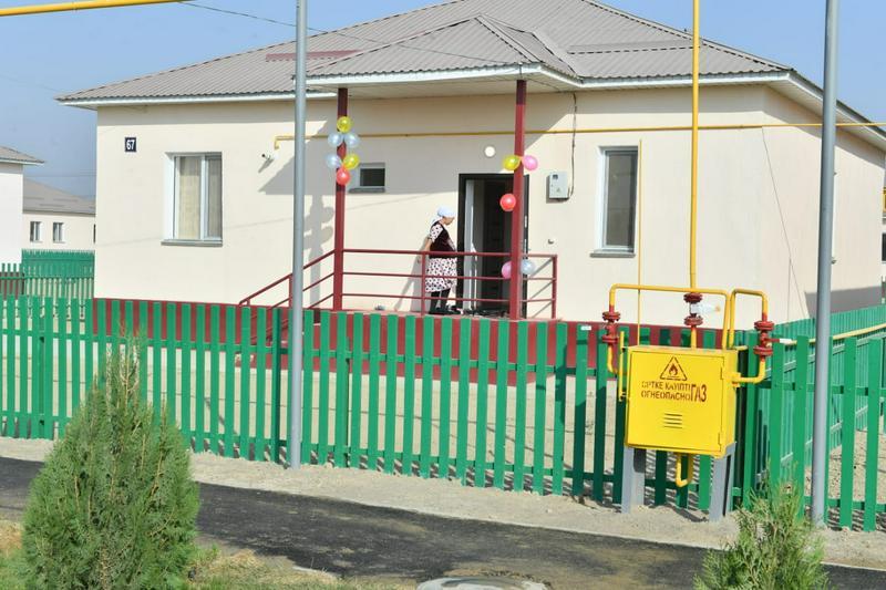 Еще десять домов сдадут для пострадавших от подтопления в Туркестанской области2