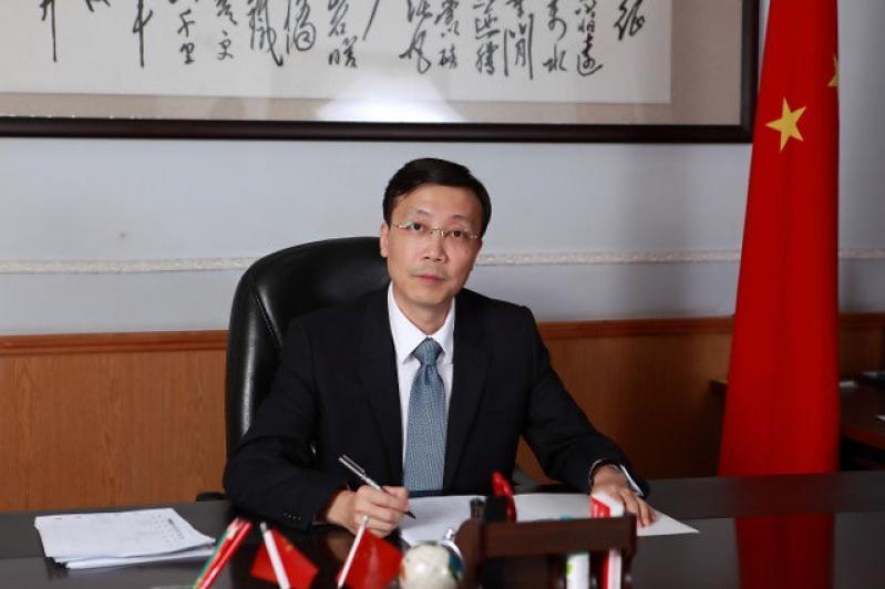 """中国驻哈大使:""""一带一路""""是中哈互惠发展和共同繁荣之路"""