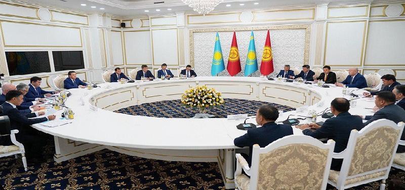 PM Mamin participates in VIII session of Kazakh-Kyrgyz Intergovernmental Council in Bishkek