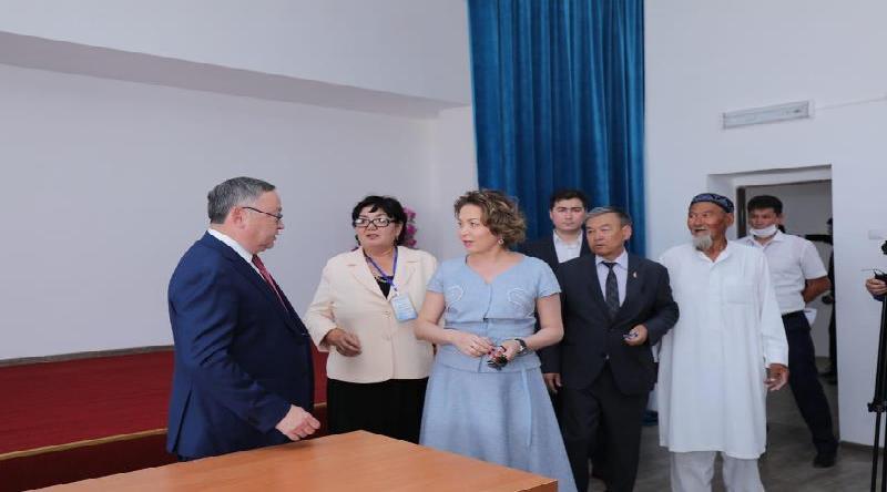 Ряд социальных объектов открыли в Актюбинской области