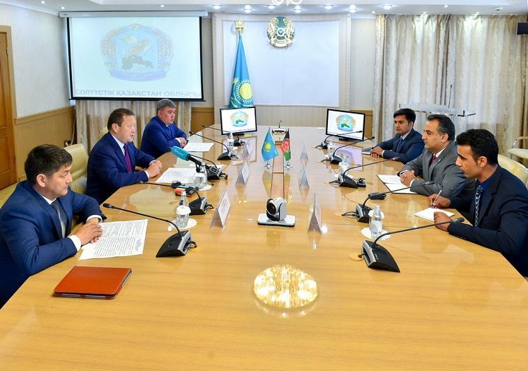 Afghanistan eager to buy N Kazakhstan grain, flour
