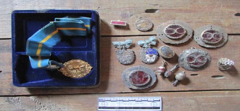 Ақмола облысында ордендер мен медальдар толы сейфті ұрлаған күдікті ұсталды