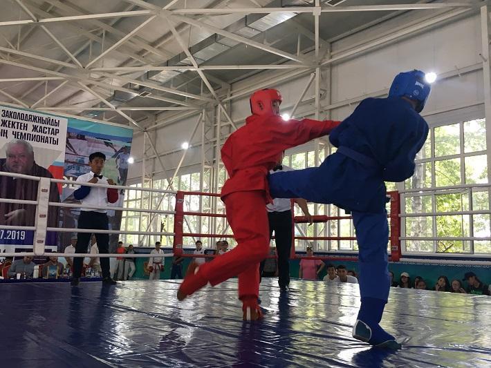Чемпионат Казахстана по универсальному бою проходит в Алматы