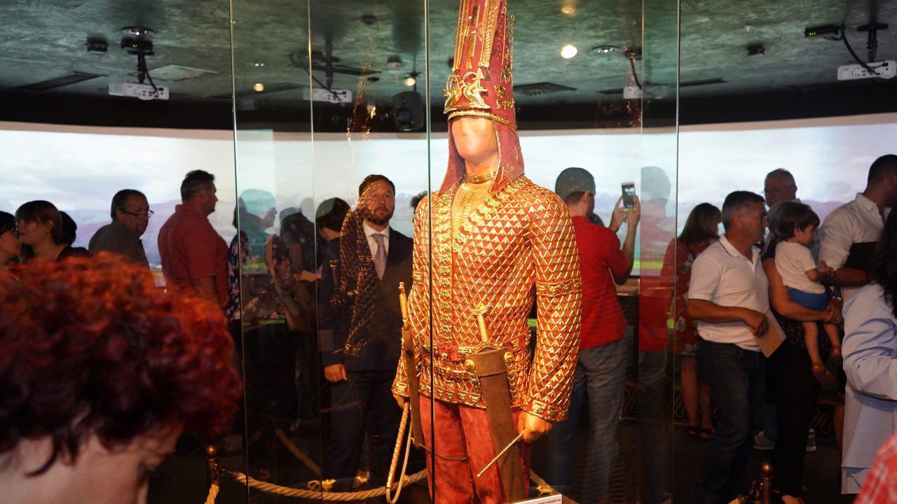 Казахстанская выставка с «Золотым человеком» открылась в музее Македонии