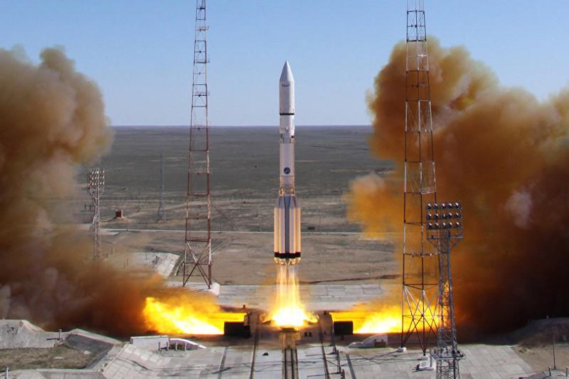 Космические экологи приступили к работам после запуска ракеты «Протон-М» с Байконура