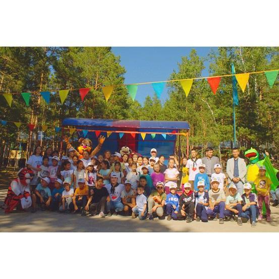 50 детей из Арыси приехали дополнительно в Акмолинскую область