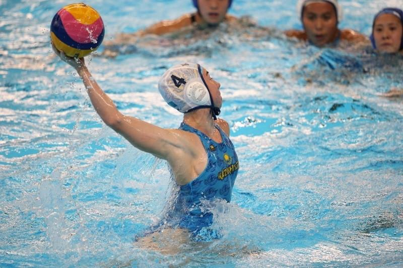 Kazakhstan women's water polo team starts with win at World Championships