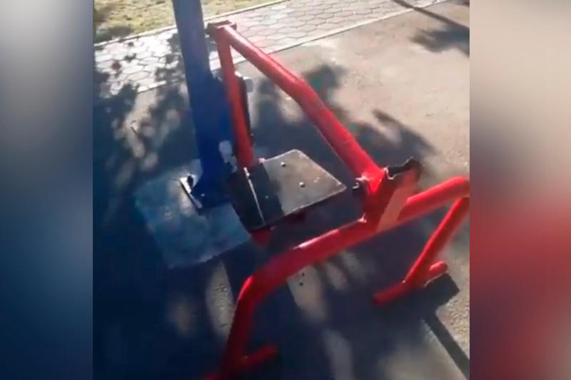 7-летний ребенок пострадал от тренажера в центральном парке Кокшетау