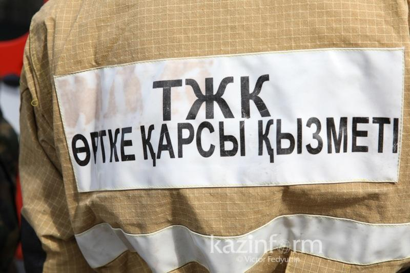Газопровод прорвало в Алматы