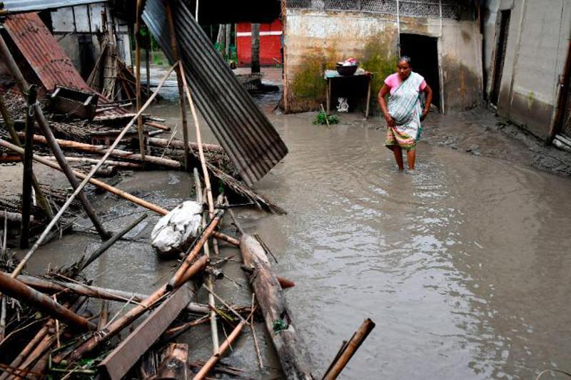 尼泊尔持续降雨已致65人丧生