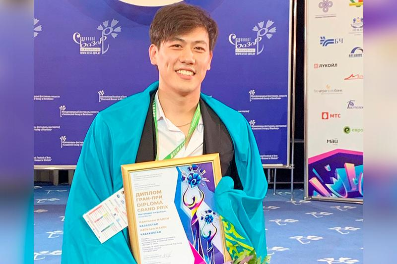 Kazakhstan's Adilkhan Makin announced winner of Vitebsk Song Contest 2019