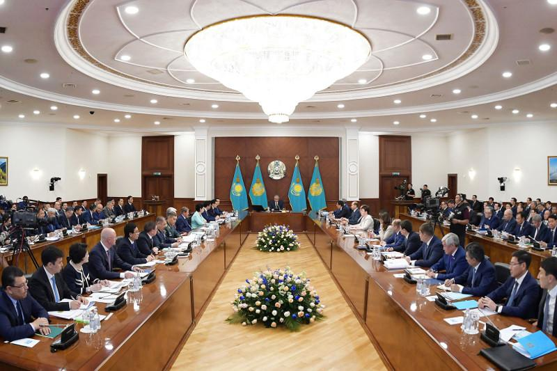 Kazakh President met with governors