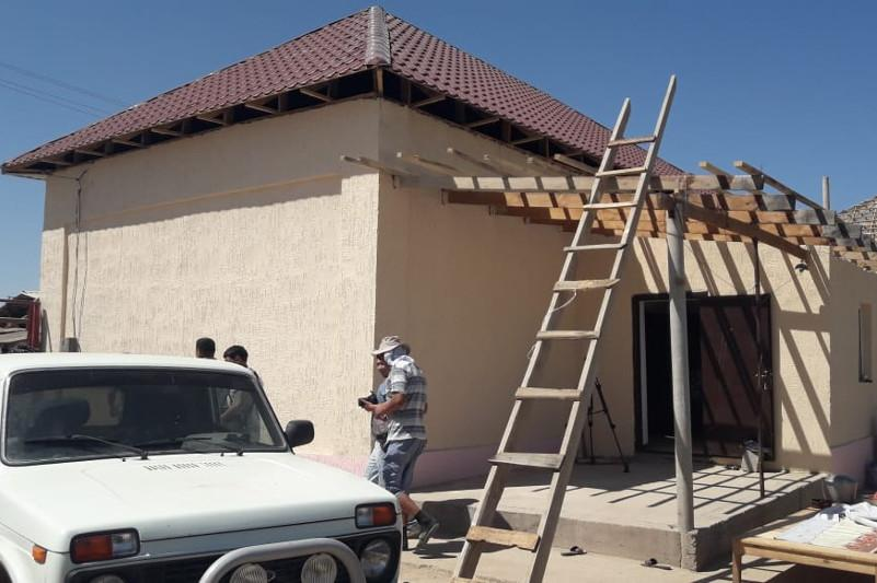 Over 1,000 houses restored in Arys