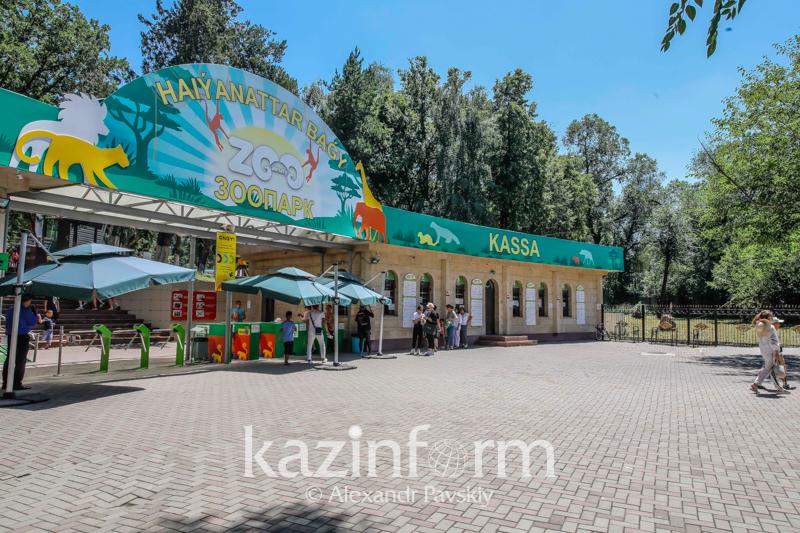 В зоопарке Алматы умер лось