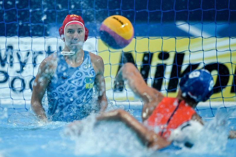 World Aquatics Championships: Kazakhstan women's water polo team loses to Spain