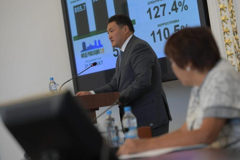 Булат Бакауов: Доля импорта в Павлодарской области должна сократиться
