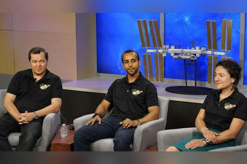 UAE astronauts train at NASA's Lyndon B. Johnson Space Center